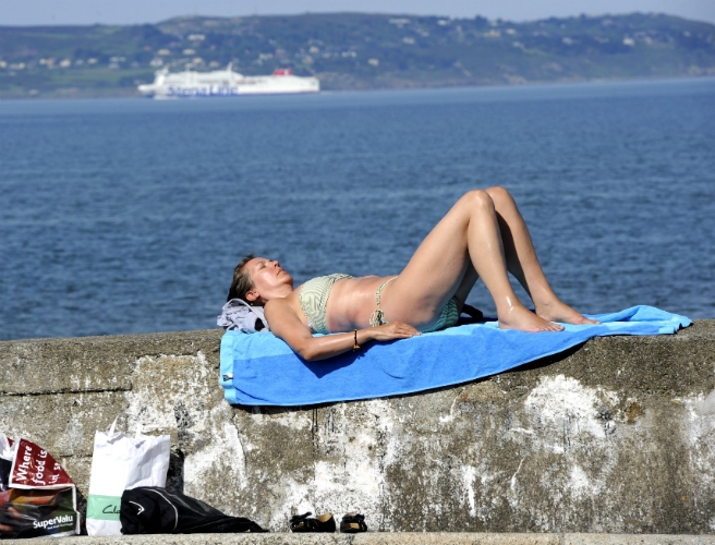 Met Eireann Says Warmest Weather Of The Year On It's Way