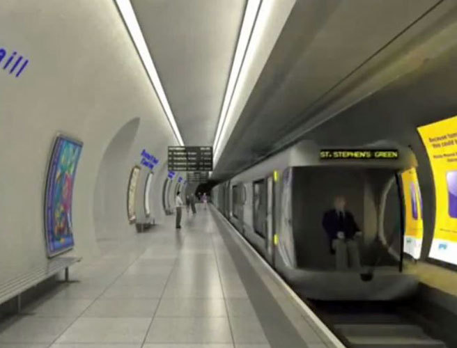 Ireland 2040: Dublin Promised A Metro And Longer DART And Luas Lines