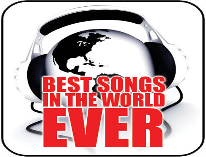 The top 10 most requested songs in the WORLD EVER*
