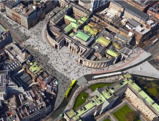 City Council Reveals Plan To Fully Pedestrianise College Green