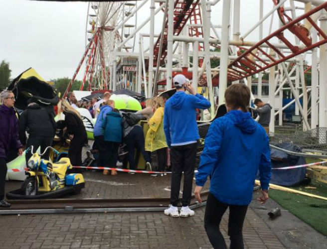 Several Injured During Rollercoaster Incident In Scotland