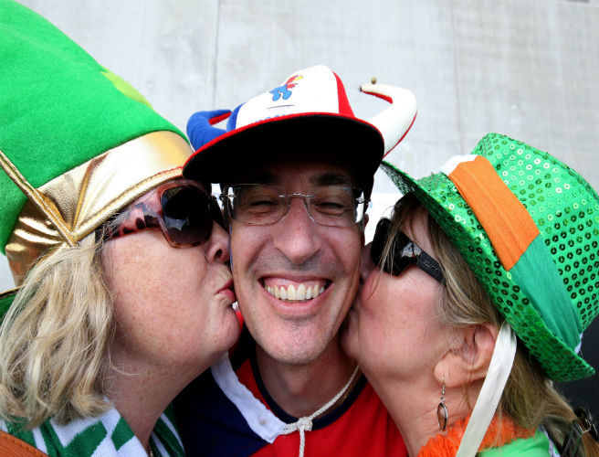 Irish Fans to Get French Medal for Sportsmanship