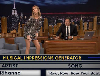 Celine Dion Plays Wheel Of Musical Impressions