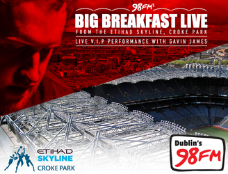 98FM's Big Breakfast Is Heading For The Skies!