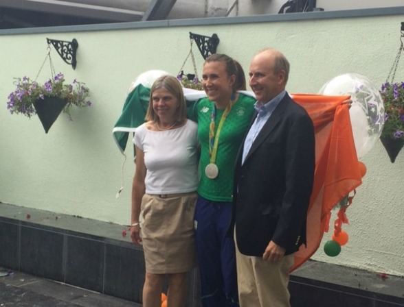 Annalise Murphy Is Home With Her Silver Medal