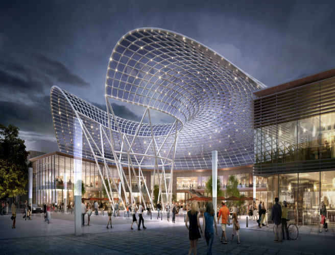 Liffey Valley To Get Civic Plaza and Olympic-Standard Ice Rink