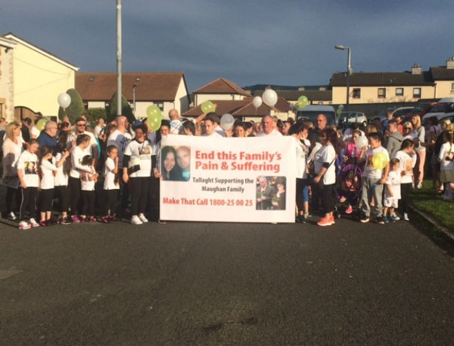 Solidarity March Held For Maughan Family