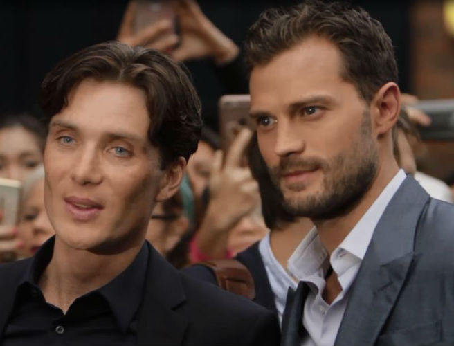 Cillian Murphy & Jamie Dornan At The Irish Premiere Of Anthropoid