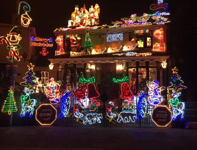 Crumlin House Wins 98FM's Best Christmas Lights With Homebase