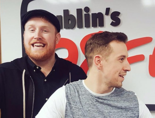 Gavin James Performs His New Single Live On 98FM