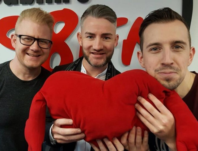 First Dates Gary On 98FM's Big Breakfast