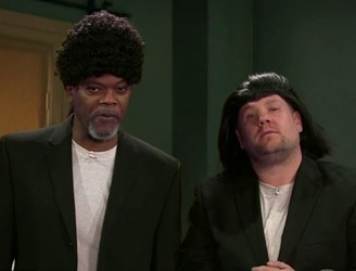 Samuel L Jackson and James Corden Reenact His Ten Best Movies