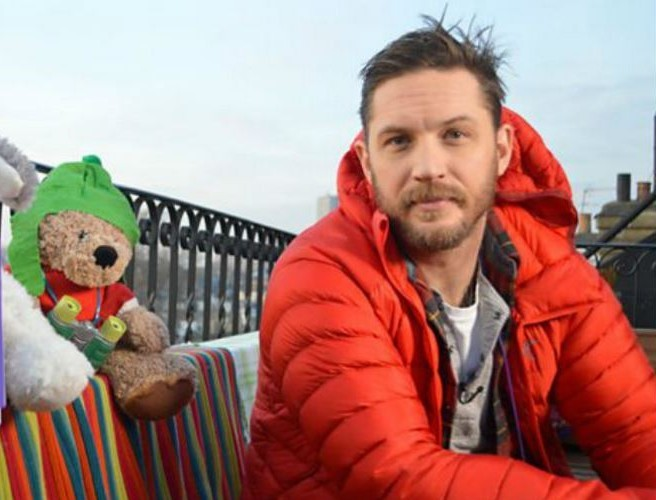 Tom Hardy Is Reading Another Bed Time Story