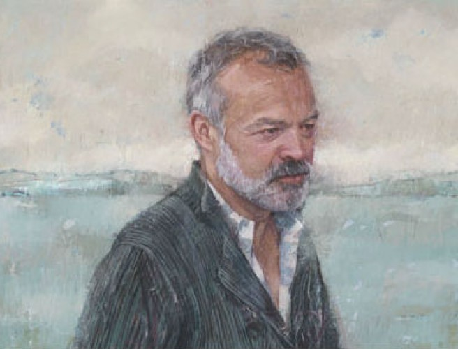 Graham Norton Portrait Goes on Display at National Gallery
