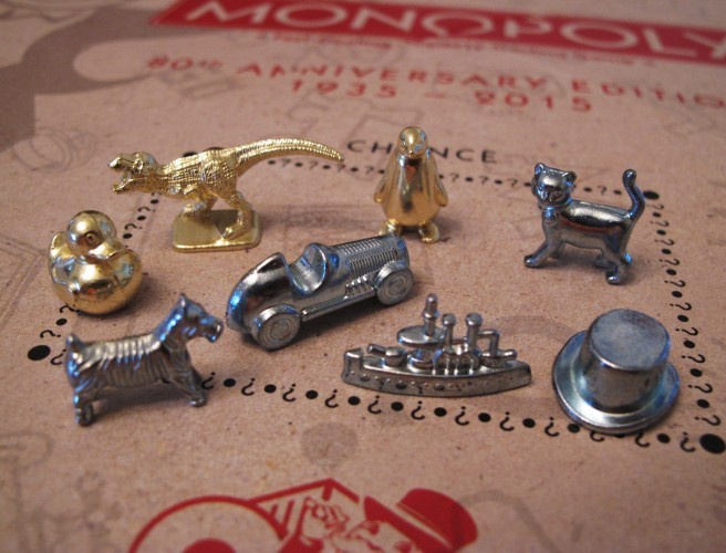 Monopoly Unveils New Playing Pieces