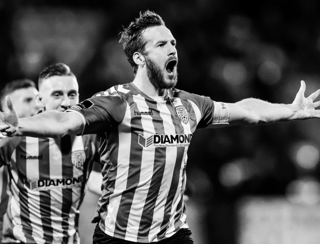 Tributes Flow In For Derry City Captain Ryan McBride, Who Has Died