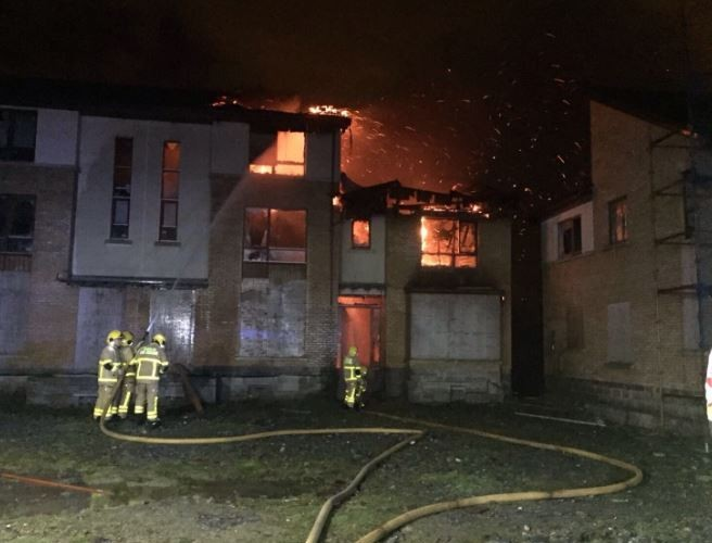 Four Units Tackle Major Blaze In West Dublin