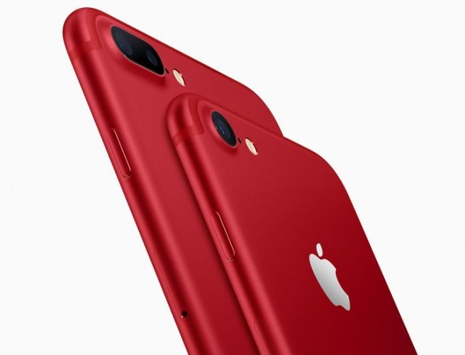 Apple Unveils Limited Edition Red iPhone 7 & 7 Plus