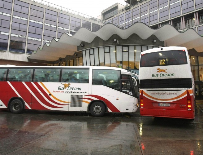 All Out Strike at Bus Eireann From Midnight