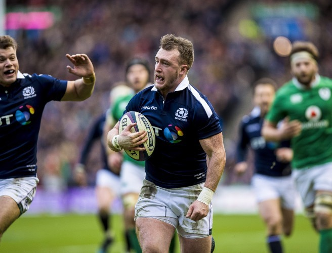 6N: Stuart Hogg Beats CJ Stander To Six Nations Player Of The Tournament