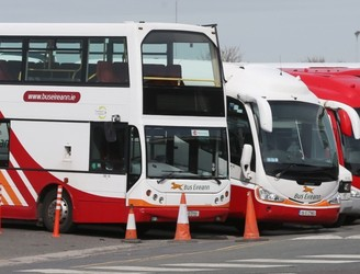 Bus Eireann Staff Picketing Depots Nationwide