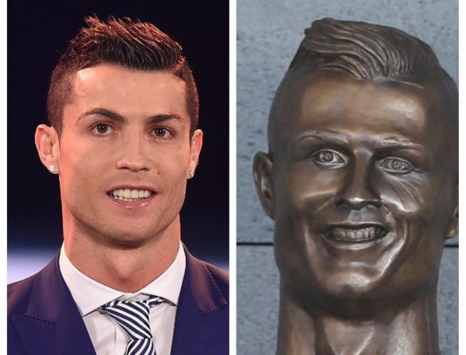 The State Of This Cristiano Ronaldo Bust!