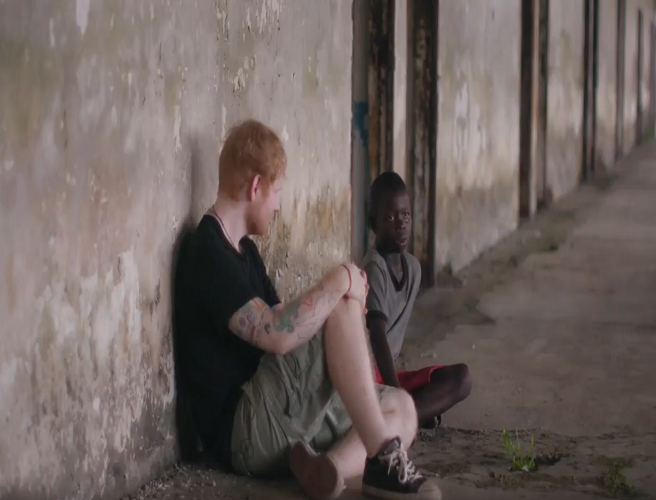 Liberian Boy Saved By Ed Sheeran Has Spoken Out In Emotional Interview