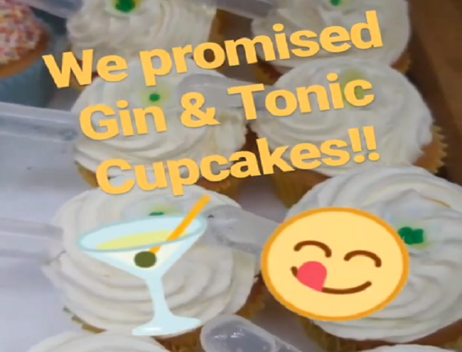 Gin & Tonic Cupcakes Have Returned To Dublin