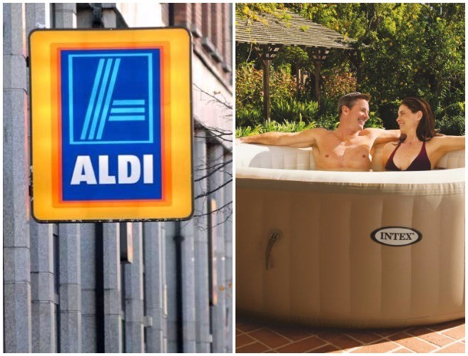 People Are Loving This Aldi Hot Tub