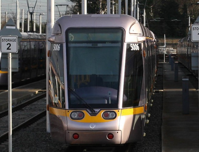 13 Year Old Girl Held Up On Luas Green Line