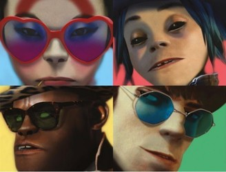 New Music From Gorillaz Ft. Rag'N'Bone Man