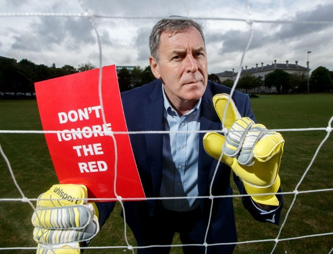 Packie Bonner Warns 'Don't Ignore The Red!'