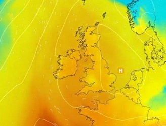Yellow Weather Alert As Temperatures Soar