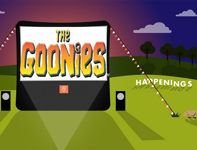 Open-Air Screening Of The Goonies In City Park This Friday