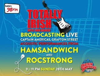 #TotallyCaptains Live this Sunday with HamsandwicH