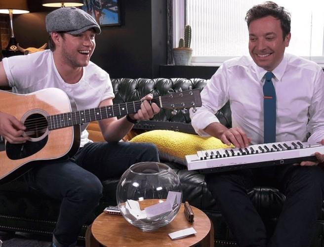 Niall Horan Plays Instant Song Challenge With Jimmy Fallon
