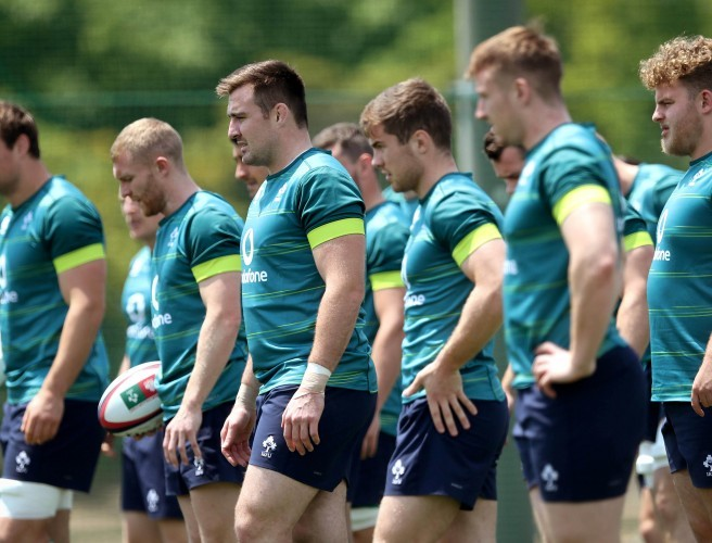 Ireland Make Six Changes For Japan Test