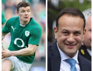 Brian O'Driscoll And Leo Varadkar Are Voice Twins