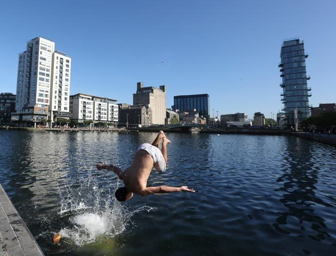 Temperatures To Hit 29 Degrees Tomorrow In Dublin