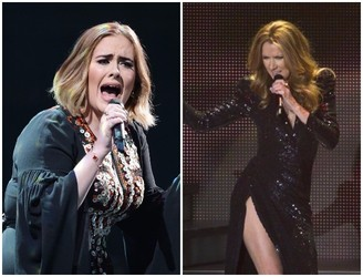 Adele Pays Celine Dion Secret Visit At London Gig