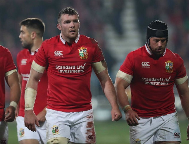 Six Irish Players In Lions Test Squad To Face All Blacks