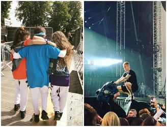 Dublin Kids Dance On Stage With Justin Bieber