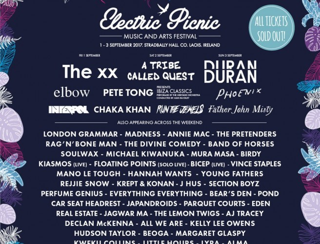 20 New Acts Confirmed For Electric Picnic