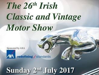 The Irish Classic And Vintage Motor Show Returns This Weekend