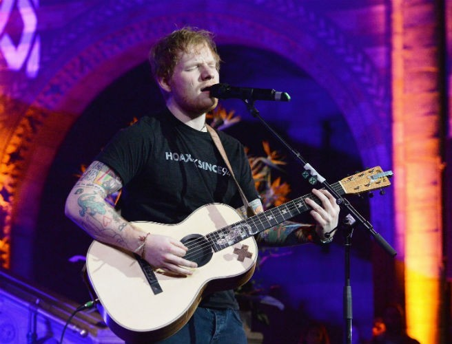 Ed Sheeran Announces Irish Dates