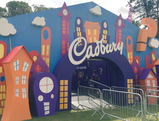 Cadburys Taste Sensation Hits Longitude This Weekend