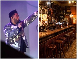 The Weeknd Hangs Out In Dublin Pub