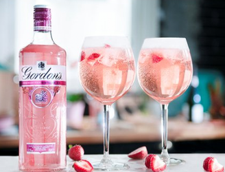 Gordon's Launches Pink Gin