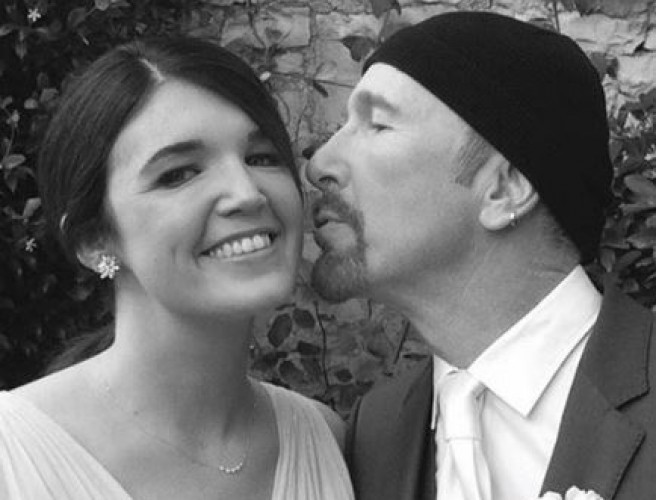 U2 Star The Edge To Walk Daughter Down The Aisle This Weekend
