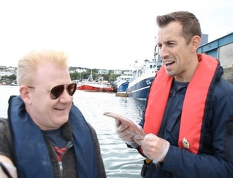 98FM's Big Breakfast Visit The Friendly Seal In Howth